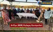 Arifiye (HEM) Kışlaçay Kursiyerleri Poyrazla Gölünde Buluştu!