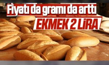 Ekmek Fiyatı da Gramı da Arttı!