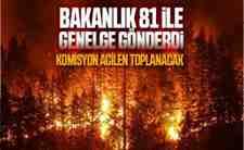 Orman yangınlarının engellenmesi için…