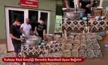 Kışlaçay Köyü Gençliği Dernekle Koordineli Aşure Dağıttı!