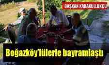 Başkan Karakullukçu Boğazköy'lülerle bayramlaştı!