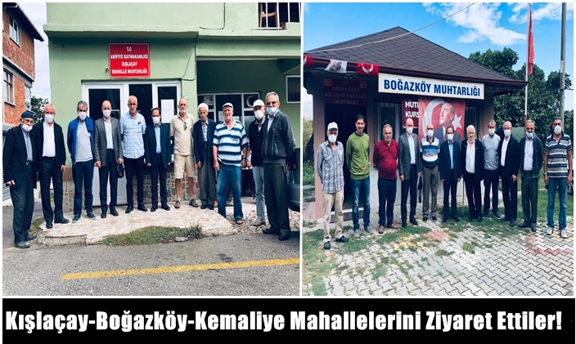 Sakarya CHP İl Başkanı Ecevit Keleş Kışlaçay Ve Boğazköy Mahallesinde!
