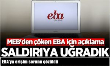 EBA'ya erişim sorunu çözüldü!