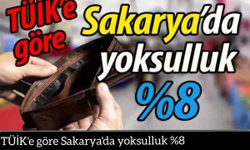 TÜİK'e göre Sakarya'da yoksulluk %8