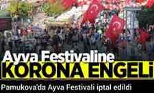 Pamukova'da Ayva Festivali iptal edildi!