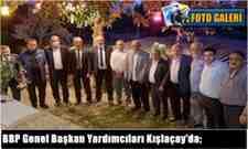 Büyük Birlik Partisi Genel Başkan Yardımcıları Kışlaçay'ı Ziyaret Etti!