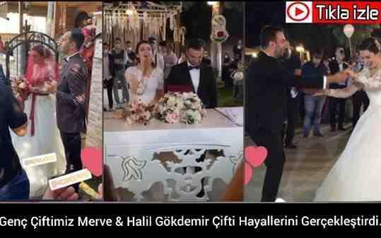 Merve Abiş & Halil Gökdemir Çifti Hayatlarını Birleştirdi.