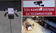 Kışlaçay Mahallesi Giriş – Çıkışına Kameralı Önlem Alındı!
