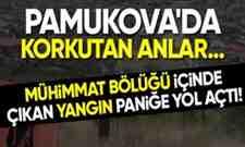 Pamukova'da Mühimmat Deposunda Korku Dolu Anlar!