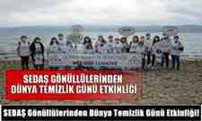 SEDAŞ Gönüllülerinden Dünya Temizlik Günü Etkinliği!