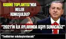 Cumhurbaşkanı Erdoğan Kabine Toplantısı ardından açıklamalarda bulundu.