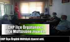 Cumhuriyet Halk Partisi Arifiye İlçe Örgütü Müftüyü ziyaret etti.