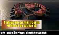 Mollaköy'e yapılacak dev tesisin ön projesi tamamlandı.
