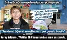"""Nuray Yıldırıcı, """"Veliler EBA konusunda sorun yaşıyordu."""
