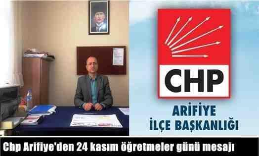 Ali GÖKPINAR'ın 24 Kasım Öğretmenler Günü mesajı..