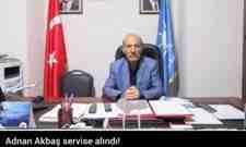 Akparti Arifiye İlçe Başkanı Adnan Akbaş servise alındı!