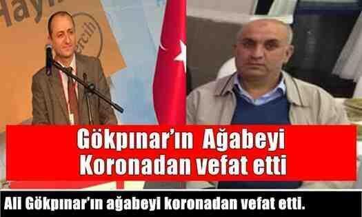 CHP Arifiye İlçe Başkanı Gökpınar'ın ağabeyi koronadan vefat etti