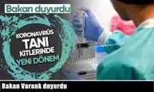 Koronavirüs Tanı Kitlerinde Yeni Dönem…