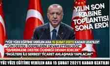 Erdoğan açıklama yaptı.