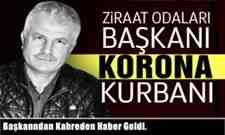 Başkan Fehmi Özüpek'den kahreden haber hayatını kaybetti.