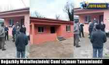 Boğazköy Mahallesindeki Cami Lojmanı Tamamlandı!