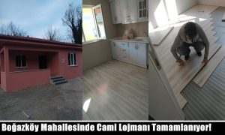Boğazköy Mahallesinde Cami Lojmanı Tamamlanıyor!