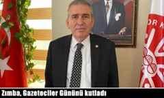 Askf Başkanı Yaşar Zımba, Gazeteciler Gününü kutladı.
