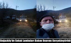 Sedaş Boğazköy Mahallesinde Sokak Lambası Mesaisi!