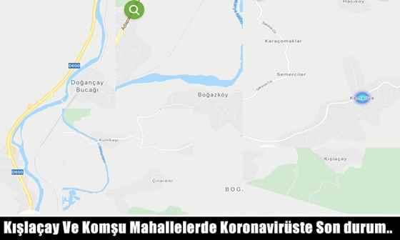 Kışlaçay Ve Komşu Mahallelerde Koronavirüste Son durum..