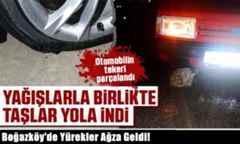 Boğazköy'de Yürekler Ağza Geldi!Allah korudu..
