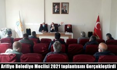 Arifiye Belediye Meclisi 2021 Yılının İlk Toplantısını Gerçekleştirdi.