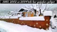 Kara gömüleceğiz!.1987, 2002 ve 2004'teki kar yağışları geliyor