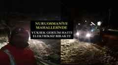 Nuruosmaniye'de Gece Zorlu Sınav Elektriksiz Kaldılar.