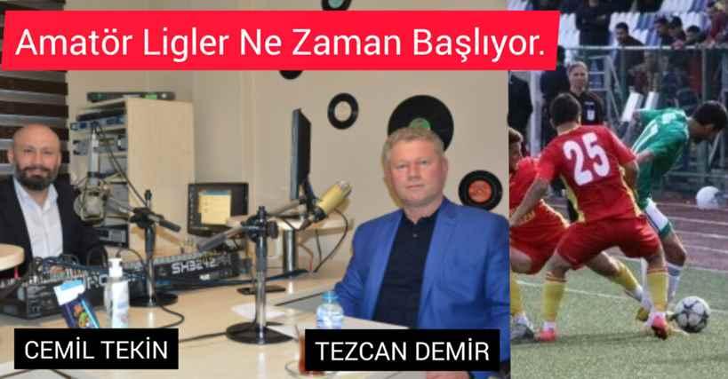 """Amatör Liglerin Kaderi """"Sadece Spor""""Programında Konuşuldu!"""