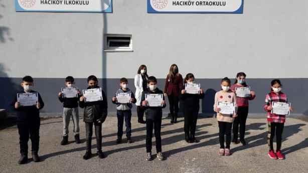 Hacıköy İlkokulu ve Ortaokulundan e twinning projesi.