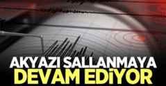 Akyazı'da artçı depremler sürüyor!