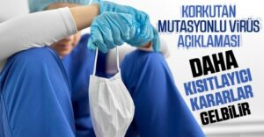 Prof. Dr. Aydın Daha Kısıtlayıcı Kararlar Gelebilir..