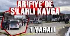 Arifiye'de silah sesleri