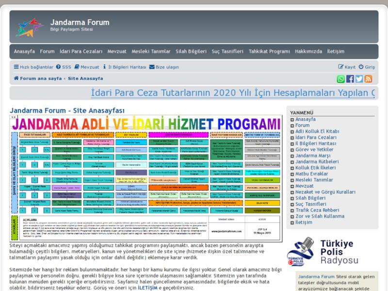 Jandarma Forum Sitesi Tanıtımı