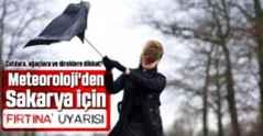 Meteoroloji'den Marmara için 'fırtına' uyarısı.