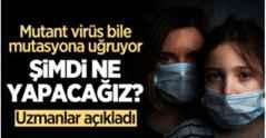 Mutant virüs bile mutasyona uğruyor…