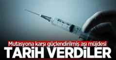 Mutasyona karşı güçlendirilmiş aşı müjdesi!