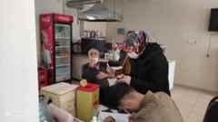 Karaçam Mahallesinde 65 Yaş Üstüne Aşılama Yapıldı!