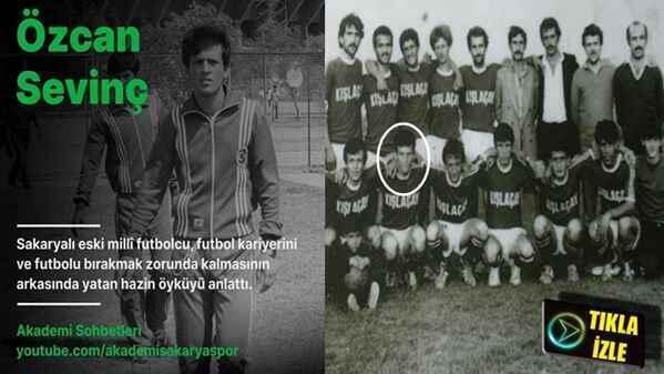 Özcan Sevinç Futbol Kariyerini Anlattı!(Video)