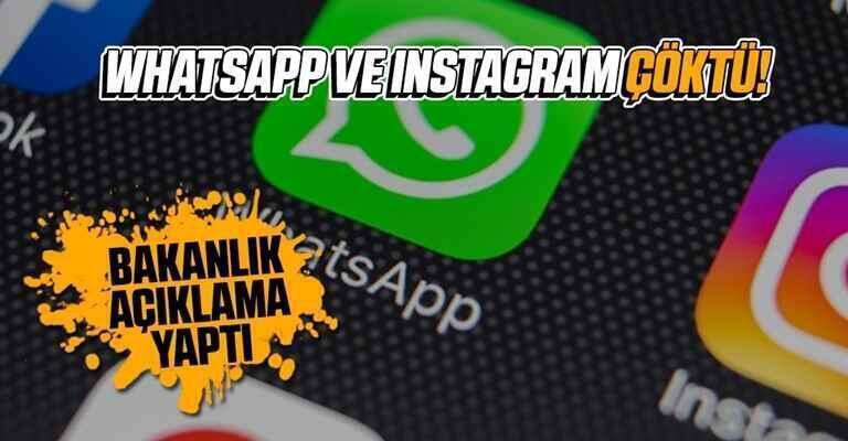 Instagram ve WhatsApp'a erişim sağlanamıyor