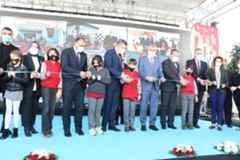 14 okulun açılış töreni yapıldı