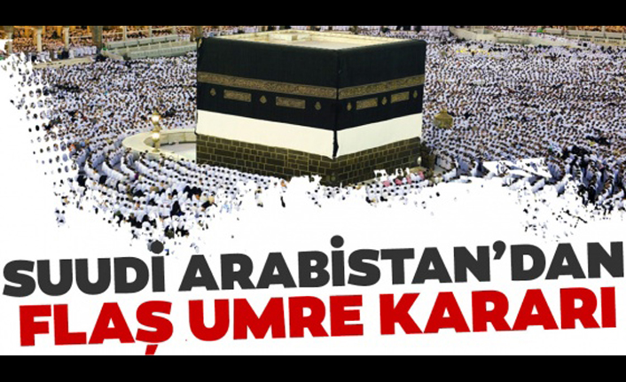 Suudi Arabistan'dan yeni umre planı..