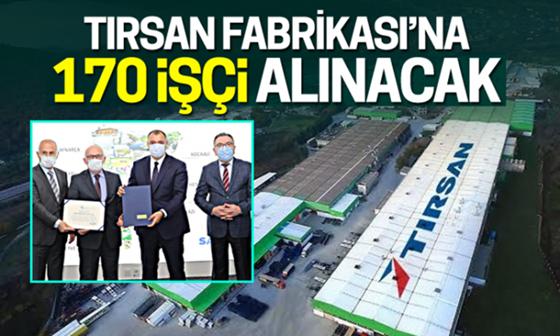 Tırsan Fabrikasına 170 işçi alınacak