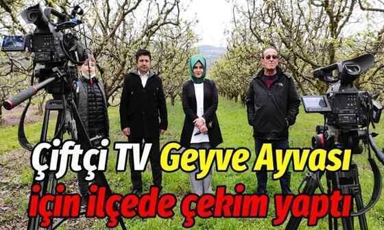 Çiftçi Tv, Geyve Ayvası için ilçede çekim yaptı