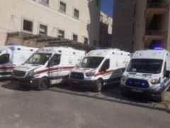 SEAH'ta Ambulansların biri gidiyor biri geliyor!